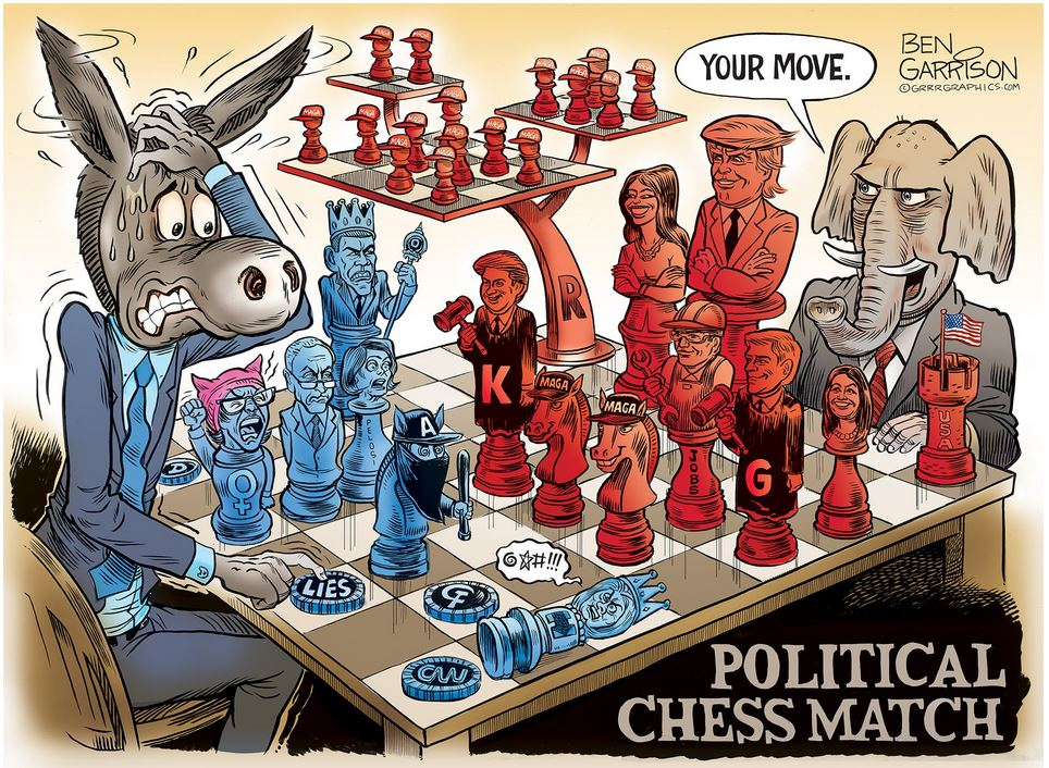 Garrison polictical chess match