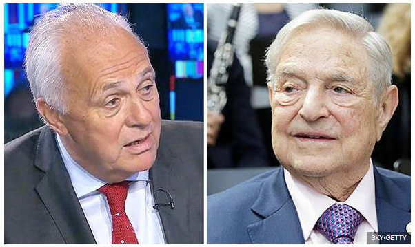 Malloch Brown and Soros