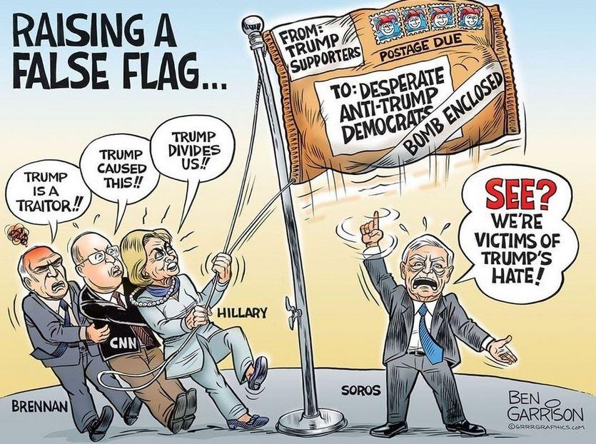 raising false flag garrison