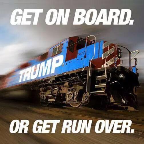 Trump train 3