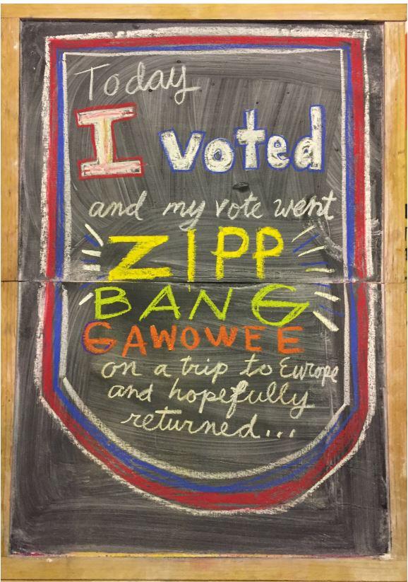 vote went to Europe