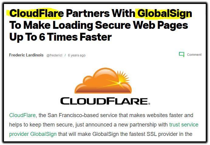 cloudfare globalsign