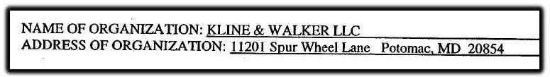 Kline and Walker