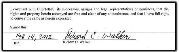 Richard Walker signature