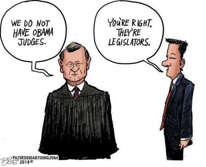 Roberts Obama judges