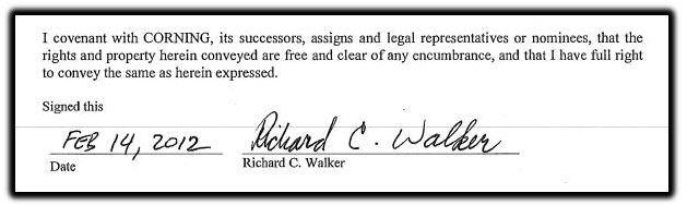 Walker signature 2012