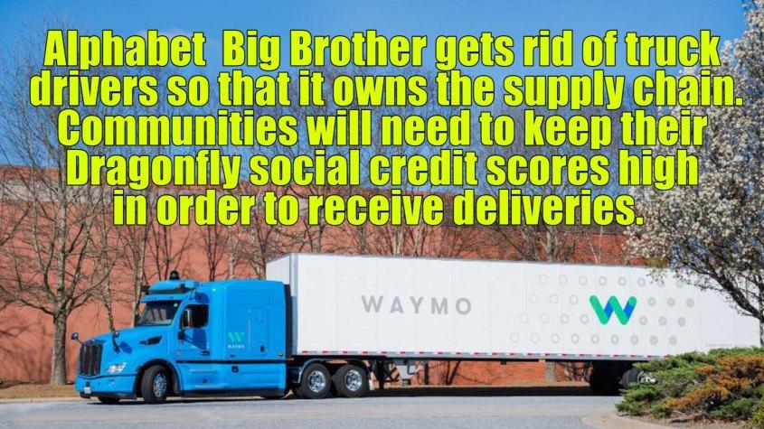 waymo truck meme 1