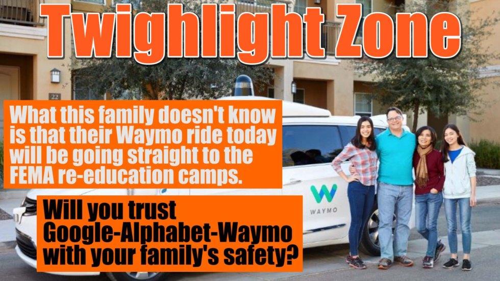 Waymo twilight zone