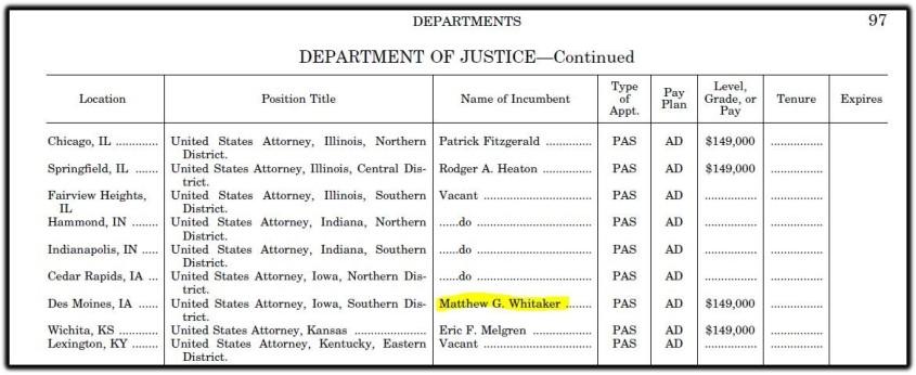 whitaker pay