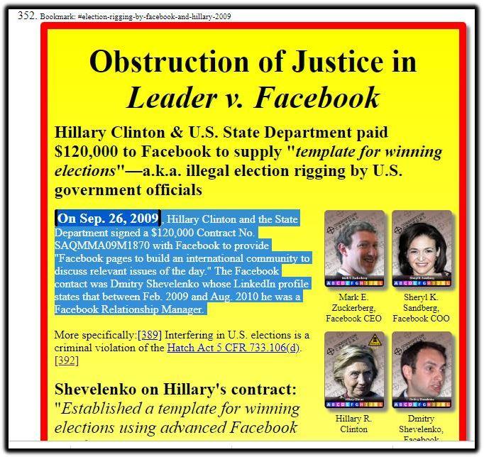 Leader v Facebook