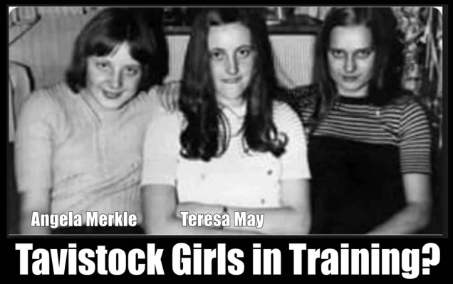 Tavistock girls in training
