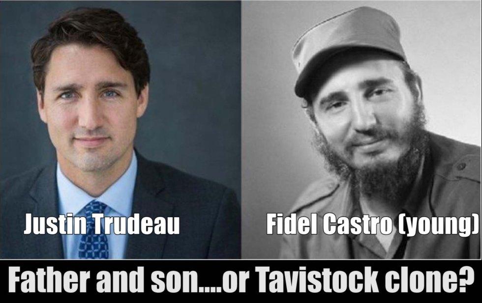 Trudeau castro clone
