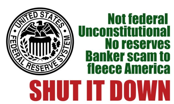 federal reserve shut it down