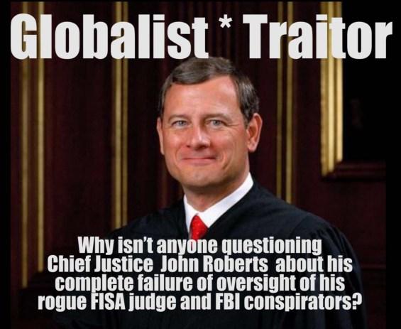 John Roberts traitor