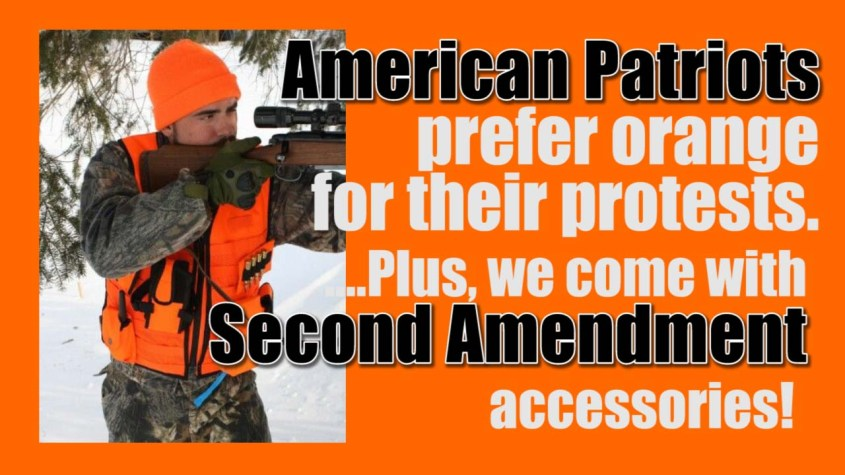patriots prefer orange