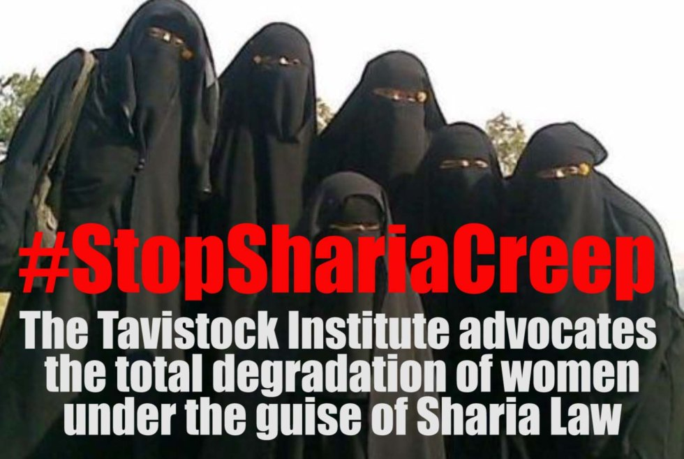tavistock sharia creep