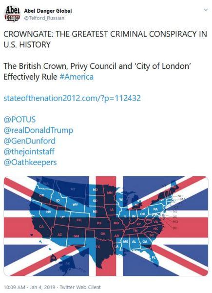 british crown tweet