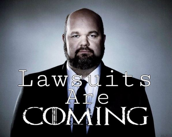 lawsuits are coming.JPG