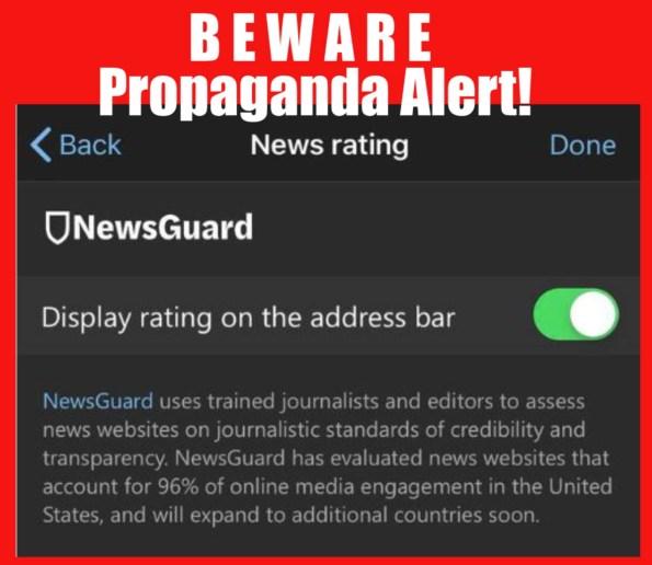 newsguard propaganda