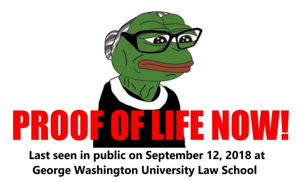proof of life ginsburg ruth