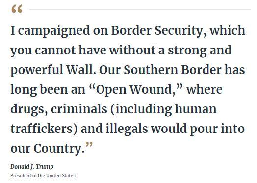 trump on border security