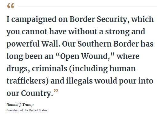 trump on border security
