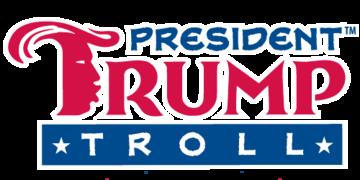 trump troll banner