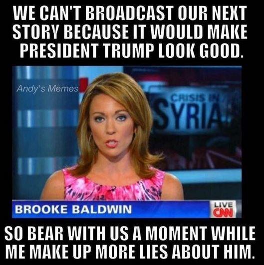 media lies hates trump