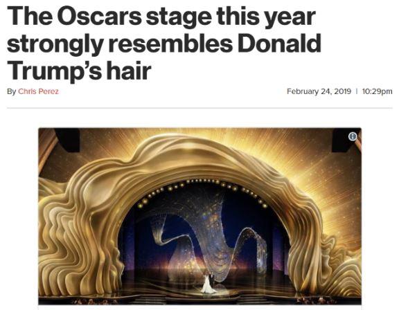 oscars stage