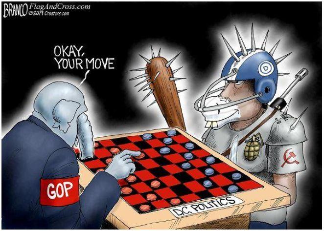 branco playing checkers