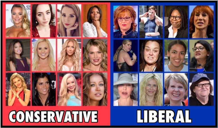 conservative liberal ladies