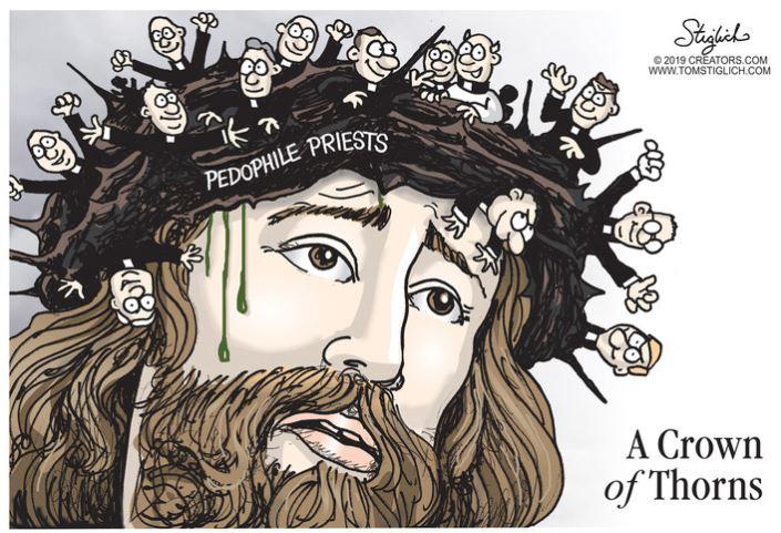 crown of thorns pedophile priests