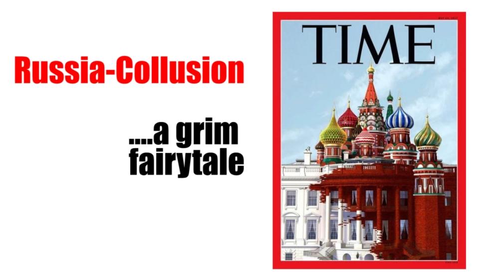russia collusion grim fairytale