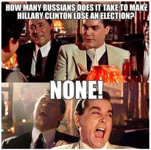 russians hillary election