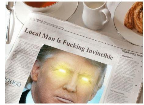 trump invincible
