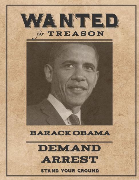 Wanted Barack Obama