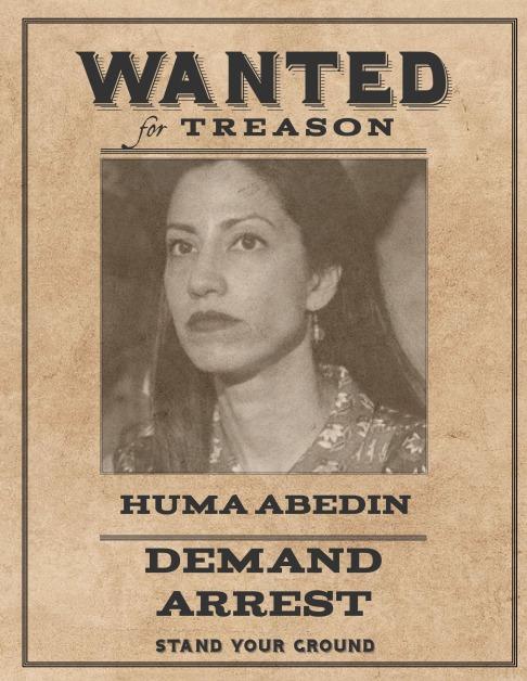 Wanted Huma Abedin