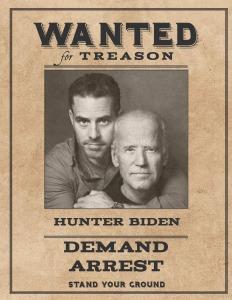 Wanted Hunter Biden