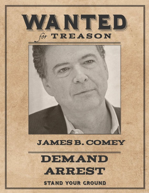 Wanted James B Comey