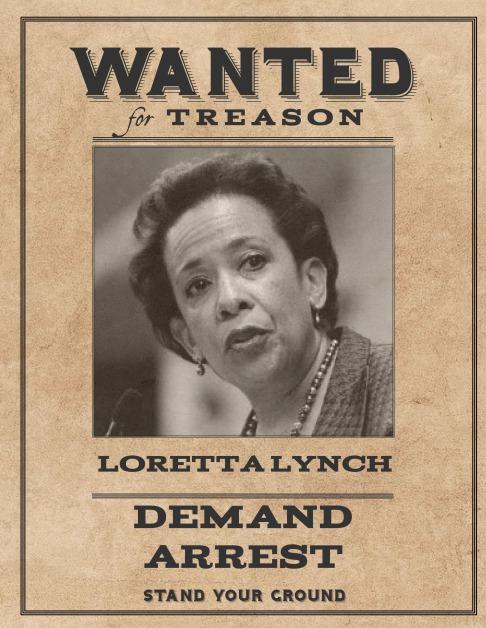 Wanted Loretta Lynch