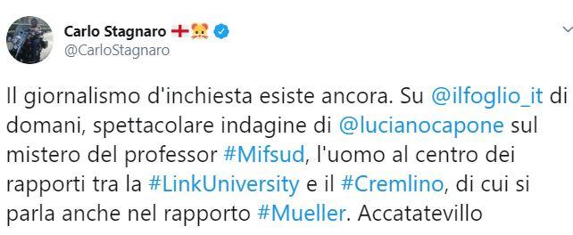 carl stagnaro tweet