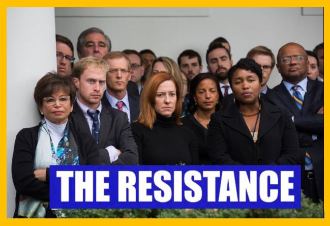 democrat resistance yellow border