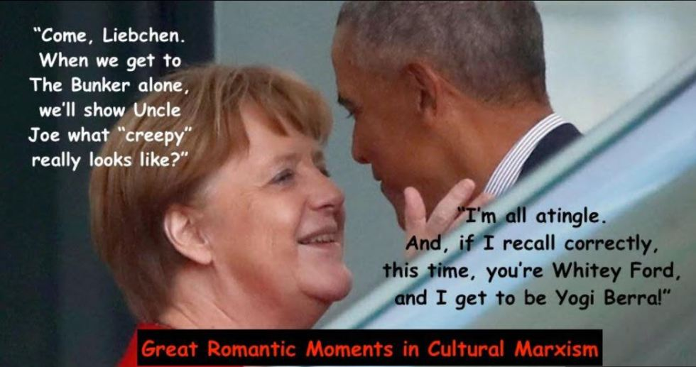 merkel obama meme