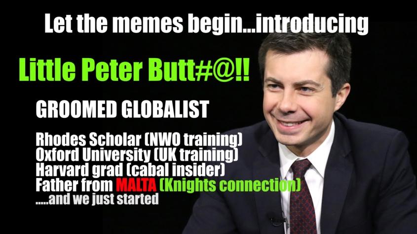 peter buttigieg meme