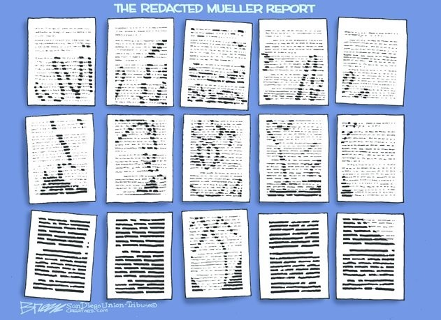 redacted mueller report