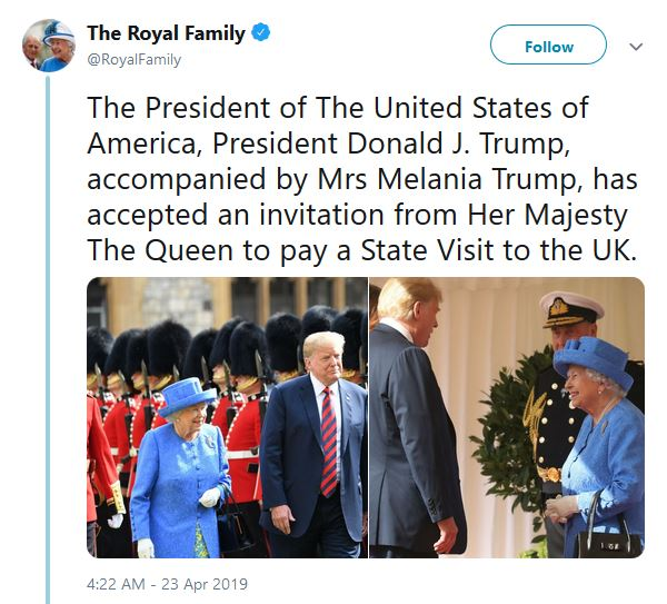 royal family invitation