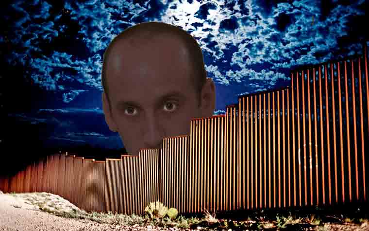 Stephen Miller and the wall