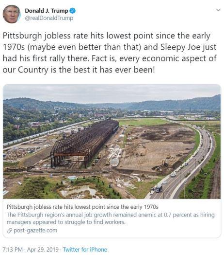 tt jobless rate