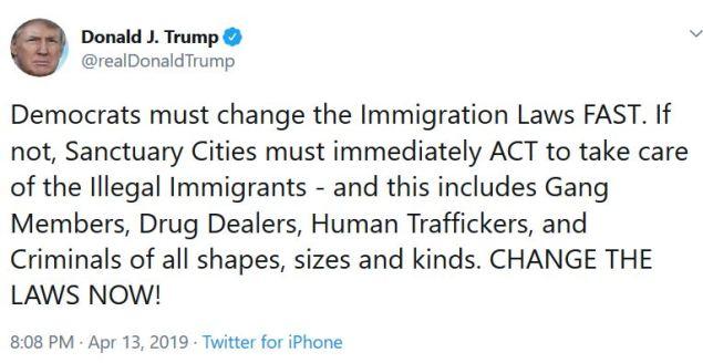 tt sanctuary cities immigation