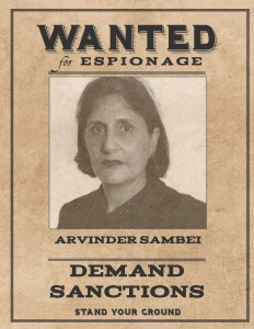 Wanted Arvinder Sambei